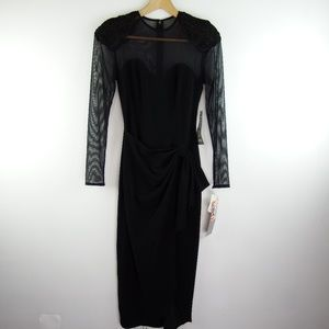 NWT Vintage Betsy & Adam Cocktail Dress Size 5/6